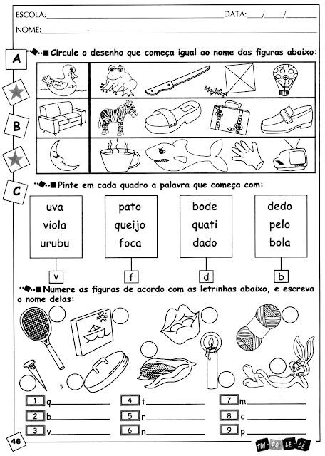 46 Alfabetização para crianças