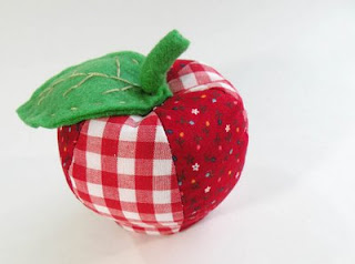 Canvas Project : Apple Pincushion - YouTube