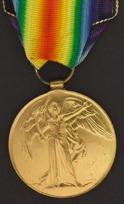 Victory Medal, First World War, Courtesy: LAC