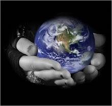 El mundo esta en tus manos, no lo dejes en manos de los demás.