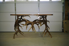 Custom Elk Antler Table