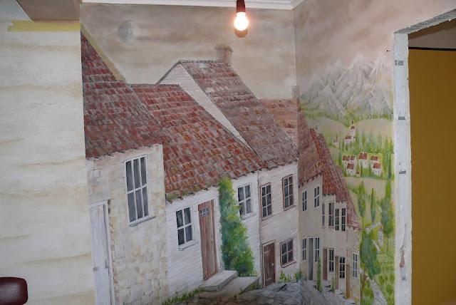 Lublin, obraz ścienny, aranżacja przedpokoju, malowanie obrazu 3D