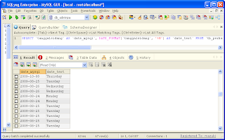 Convert Date to Day PHP-MySQL Query, Date to Day SQL, Date to Day MySQL, Date to Day PHP MySQL