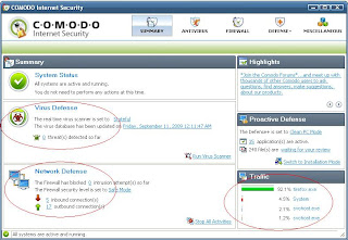 COMODO Antivirus and Firewall
