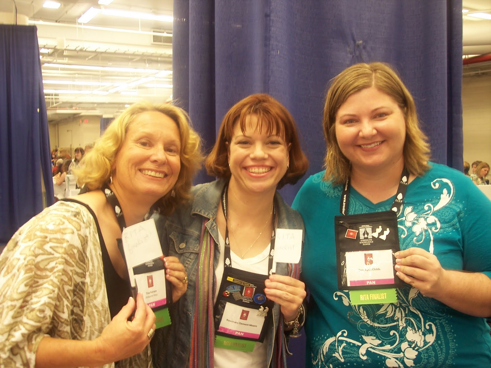 Rita finalists for Best Young Adult Romance 2009, me, Rosemary Clement-Moore ...