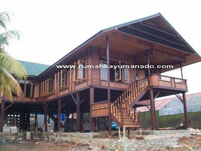 Proyek Rumah Kayu Panggung Manado Terbaru Kami, DI KOTA BEKASI - JAWA