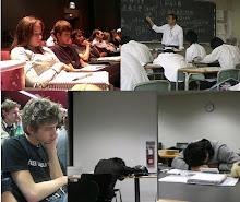 Enaknya tidur di kelas