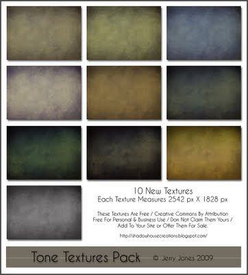 New Texture Pack by Jerry Jones Tone+Texture+Pack
