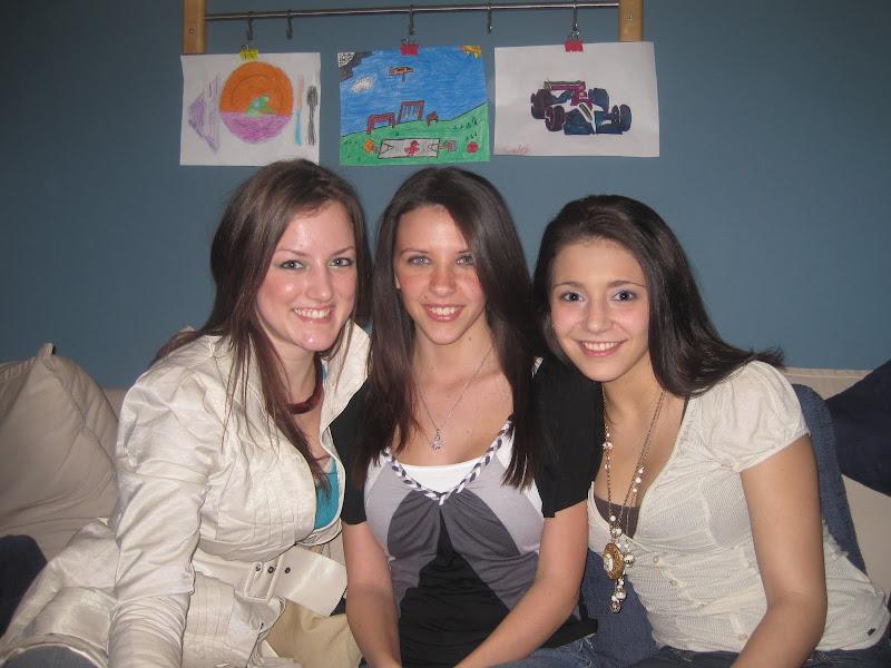 The Girls @ Matt's Party