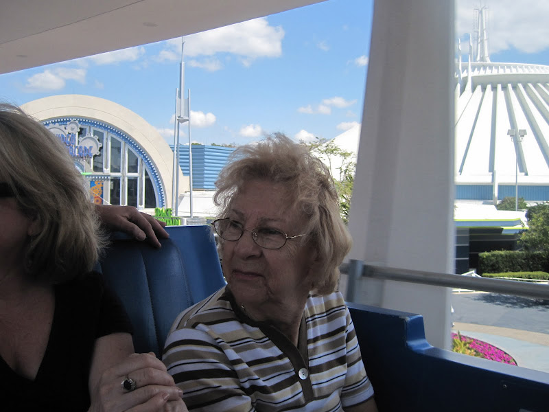 Grandma on the Transit Authority