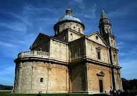 After Van Gogh II, a photograph of a church in Montepulciano, Italy