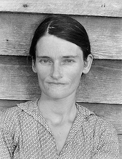 Allie Mae Burroughs by Walker Evans