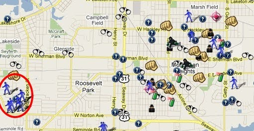 Muskegon County Mi Is On The Map Spotcrime The