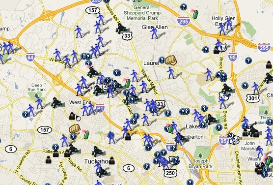 Ye Ole Henrico County Crime Map SpotCrime The Publics Crime Map