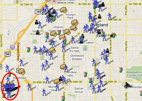 Overland Park, KS--Mapped! | SpotCrime - The Public's Crime Map on columbus crime map, binghamton crime map, harrisburg crime map, brownsville crime map, south dakota crime map, kentucky crime map, el paso crime map, pueblo crime map, eugene crime map, alabama crime map, brockton crime map, los angeles county crime map, saint paul crime map, bridgeport crime map, east st. louis crime map, champaign crime map, wyoming crime map, topeka crime map, dubuque crime map, ferguson crime map,