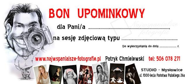 SESJA FOTOGRAFICZNA W PREZENCIE Z BONEM UPOMINKOWYM !!!