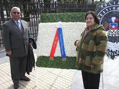 Homenaje a Bernardo O´Higgins en Parque Monumental de Chillán Viejo