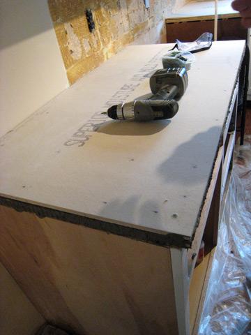 Kits granite modular countertop