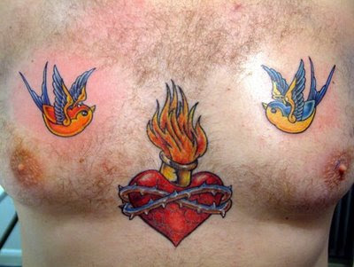 Human Heart Tattoos