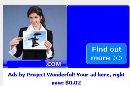project wonderful ad