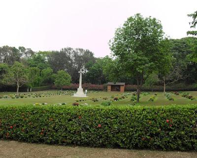 war cemetery, chittagong, bangladesh