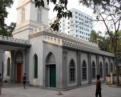 thomas church, merry's cathedral, white church, dhaka, lakkhibazar