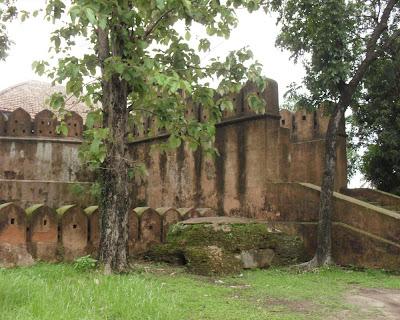 idrakpur fort, munshiganj, irdakpur kella, idrakpur durgo