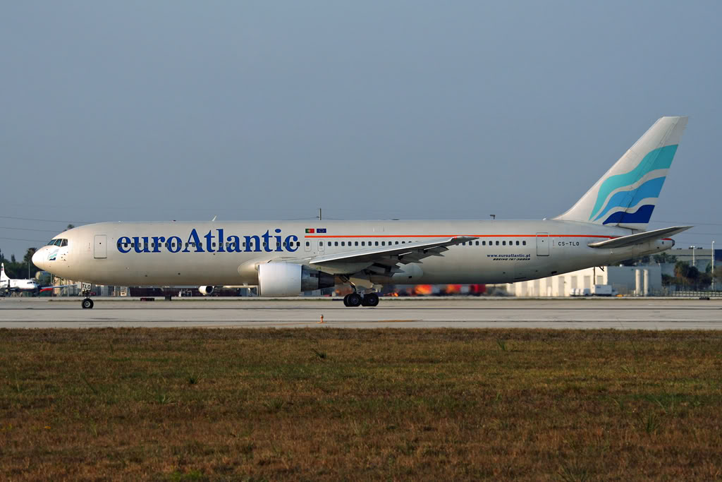 Airline Euro Atlantic Airways (Euro Attlantic Airways). Official sayt.2