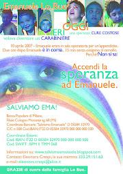 Salviamo EMANUELE a cura di Flavia del Filo CREATIVO ONLUS.