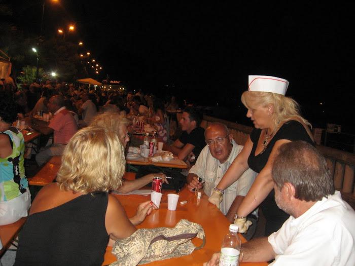 festa della sicilianità dell'Agosto 2009 a Sanremo..