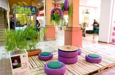Consumo sustent vel a solu o para um mundo novo for Muebles con objetos reciclados