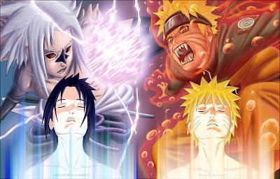 imagenes de sasuke y naruto NarutoSasukeShippuden1