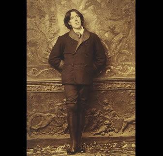 oscar wildes aestheticism essay The aesthetic movement was more than william morris wallpaper – it  another,  oscar wilde, was inspired to become the high priest of the.