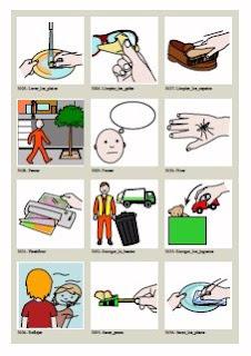 Inform tica para educaci n especial nuevos pictogramas en - Sinonimos de encantar ...