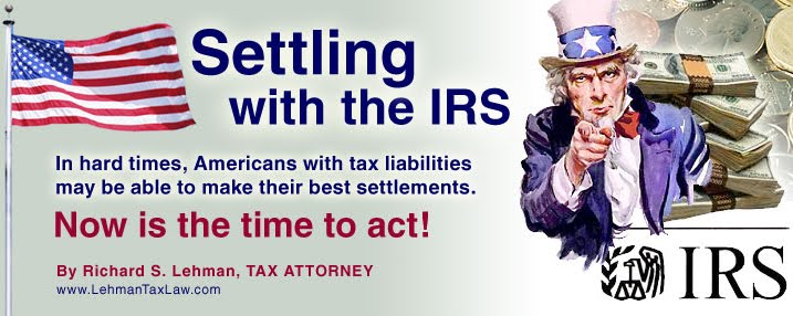 Settling with the IRS