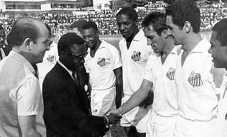 Pele and the Santos team halted the Civil war in Nigeria