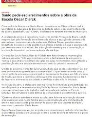A POLÊMICA DA ESCOLA ESTADUAL OSCAR CLARK