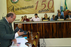 PREFEITO ANDRÉ MÔNICA ACEITA O CONVITE DO VEREADOR SAULO PERES