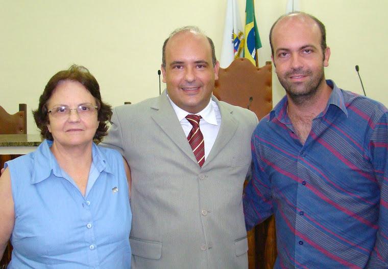 Vereador Saulo Peres em família