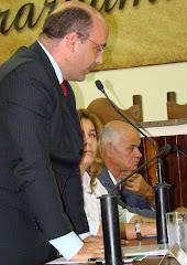 Vereador Saulo Peres está preocupado com o estacionamento rotativo em Araruama