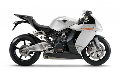 KTM 1190 RC8 2010 motorcycle
