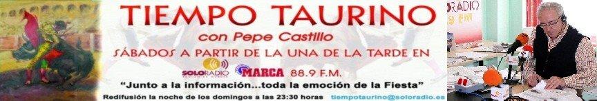 TIEMPO TAURINO CON PEPE CASTILLO ABREU