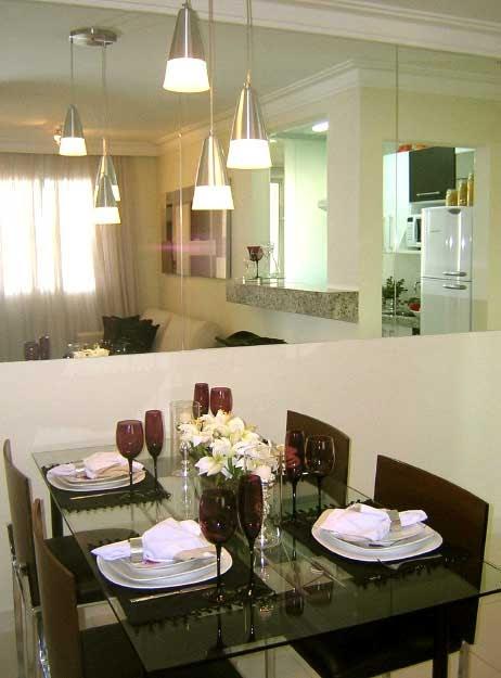 Luminárias Sala De Estar E Jantar ~ Casar & Morar Iluminação em salas integradas