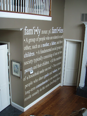 vinyl quotes for walls. but the vinyl is actually