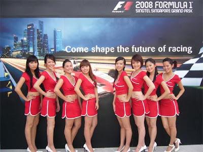 Singapore race queens