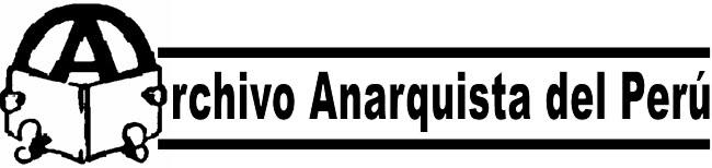 Archivo Anarquista del Perú