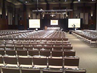 SXSW interactive empty room