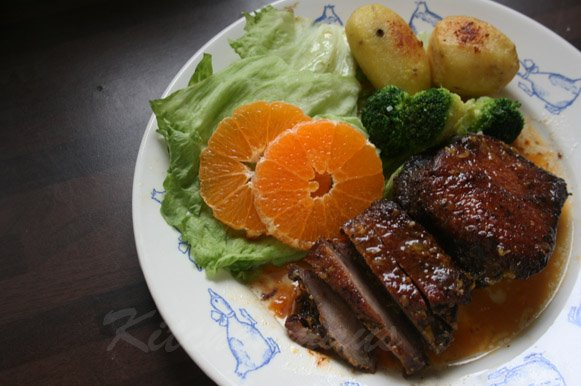 Food Friday – Orange-y Duck!