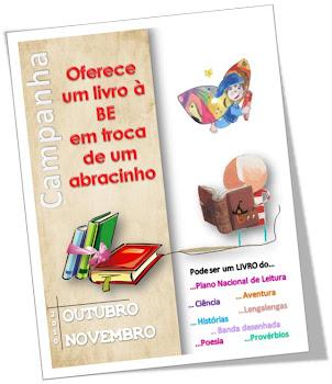 CAMPANHA de recolha de LIVROS para a BE da EB1 de Torres Vedras