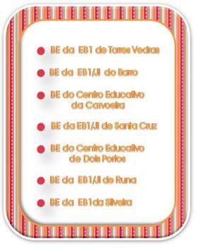 Bibliotecas Escolares existentes: